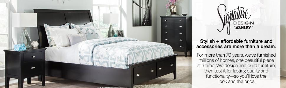 Amazon.com: Ashley Furniture Signature Design - Quinden Dresser ...