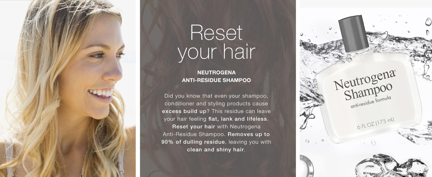 Anti-Residue Formula Shampoo