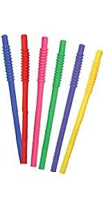 Tervis Pajitas flexibles de 11 pulgadas de colores surtidos