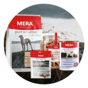 Mera Comida para Perros Pure Sensitive Cordero y arroz, 4 kg