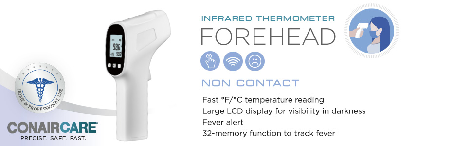 thermometer for adults forehead forehead thermometer infrared thermometer made in usa