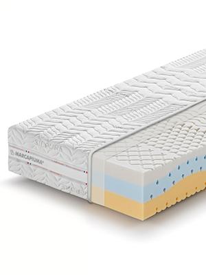 marcapiuma materassi onda med sfoderabile lavabile traspirante morbido memory onda comfort relax