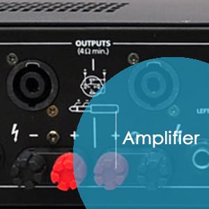 "50/' ft 14ga Speakon to 1//4/"" Male Plug SPEAKER CABLE WIRE PA DJ Pro Audio VWLTW"