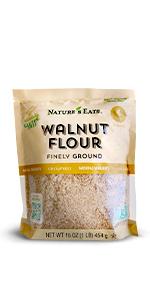 walnut flour, chart