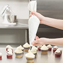 plastic coated pastry piping bag
