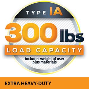 300 lbs capacity