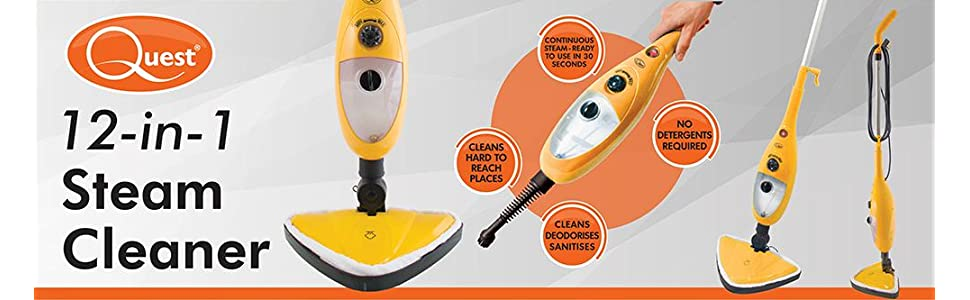 Quest Steam Cleaner top banner