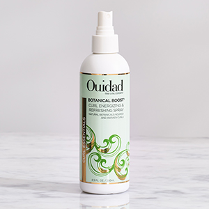 Ouidad botanical refreshing spray to re-energize and refresh dry curly hair