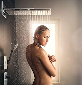 hansgrohe, douche, baignoire, bain, mitigeur thermostatique, robinet thermostatique
