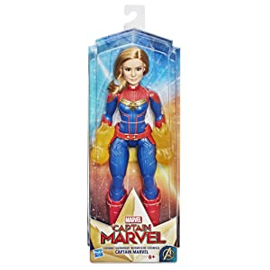Captain Marvel - Capitan Marvel Cósmica (Hasbro E4565EU4): Amazon ...
