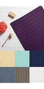 bath mat, bath rug, bath slip mat, bathroom mat, nbath mat set, memory foam bath mat