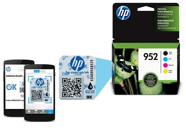 Amazon.com: HP 952 Cartuchos de tinta negro, cian, magenta y ...