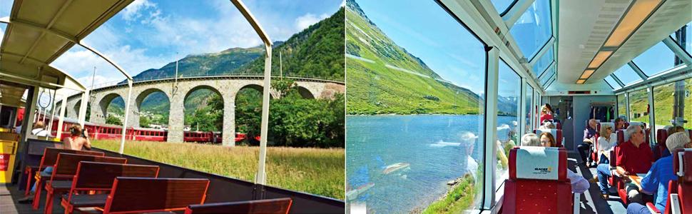 スイス,観光,氷河急行,グレイシャーエクスプレス,グレイシャー・エクスプレス,ベルニナエクスプレス