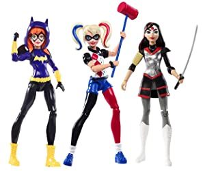 DC Super Hero Girls Action Figure 9 Pack