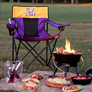 camping chair, bbq accessories, superbowl supplies, game day essentials