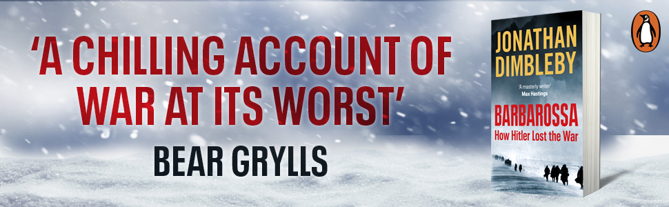 'A chilling account of war at its worst' - Bear Grylls and packshot of the book
