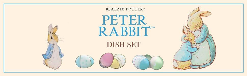 Peter Rabbit Dish Set