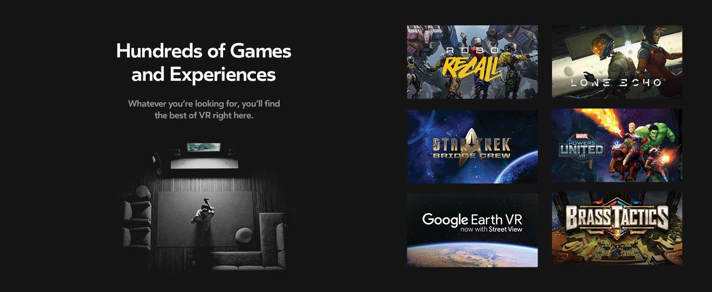 Oculus Free games