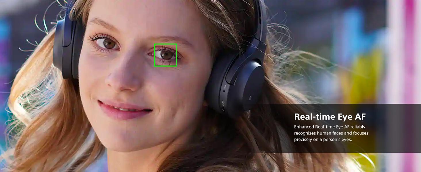 Real time eye AF