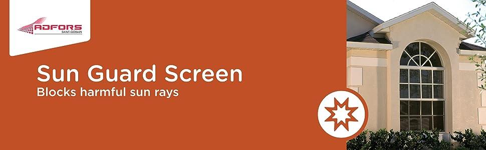 Sun Guard Screen Repair Kit for Window and Door Charcoal Sun Guard Kit