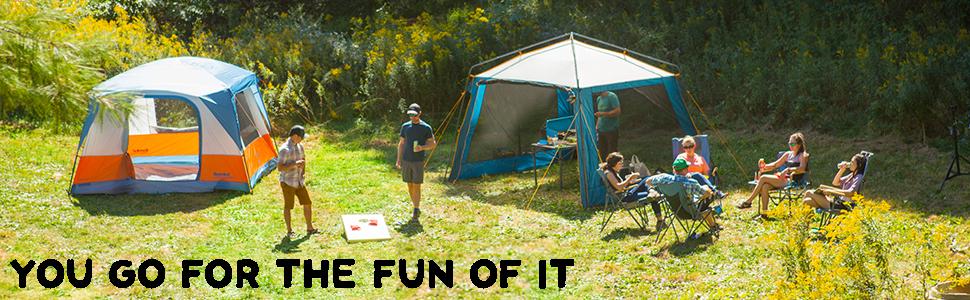 eureka; camp; camping; camping gear