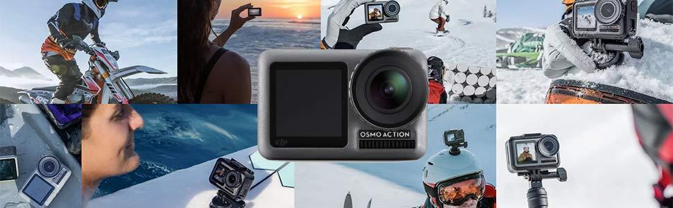 Schutzh/ülle 45 m Tauchergeh/äuse Kitspeed Wasserdichtes Geh/äuse f/ür DJI Osmo Action-Kamera