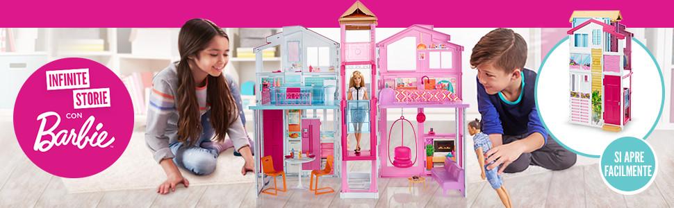 Di Con Barbie Casa Tanti E 4 Malibu StanzeAscensore Accessori18 hBtQCsdxro