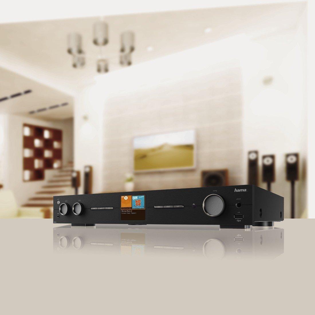 hama hifi tuner internetradio und digitalradio dit2010mbt wlan lan dab dab fm 2 8 zoll. Black Bedroom Furniture Sets. Home Design Ideas