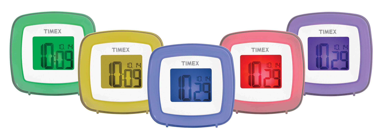 Color Changing Dual Alarm Clock