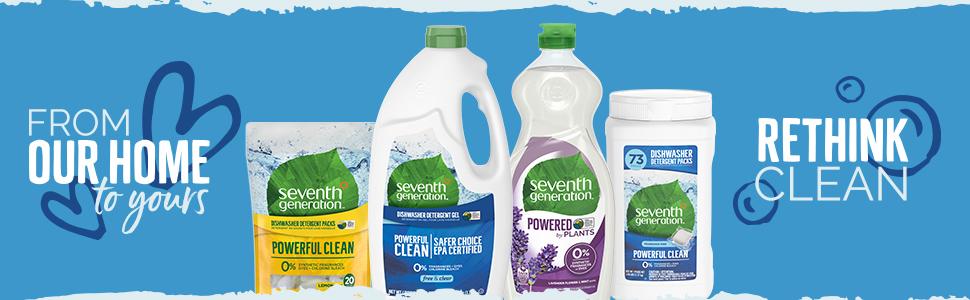 seventh generation dish, dish packs, dishwasher packs, dishwasher liquid