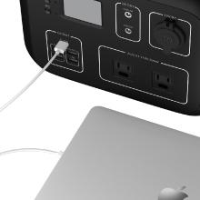 Macbookも充電可能