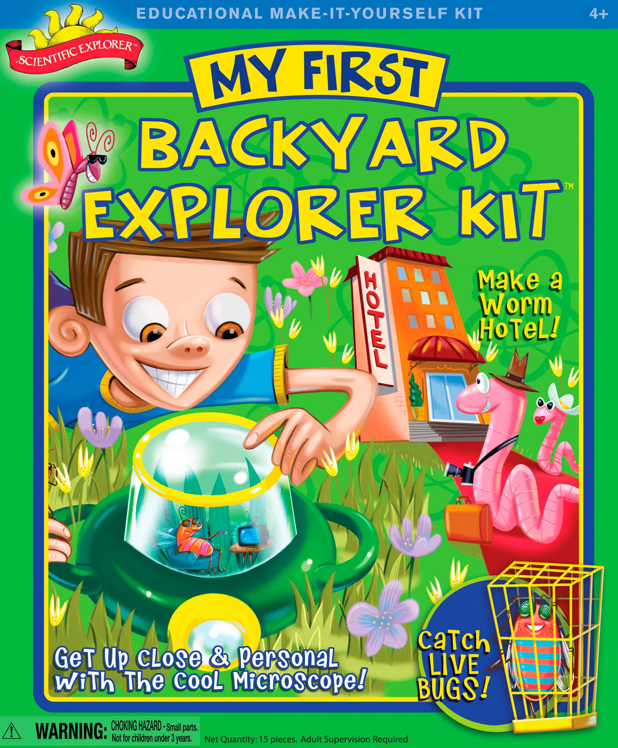 Amazon Scientific Explorer Backyard Kit Toys & Games
