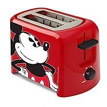 Mickey Mouse Disney 2 Slice Toaster Fun Birthday Breakfast