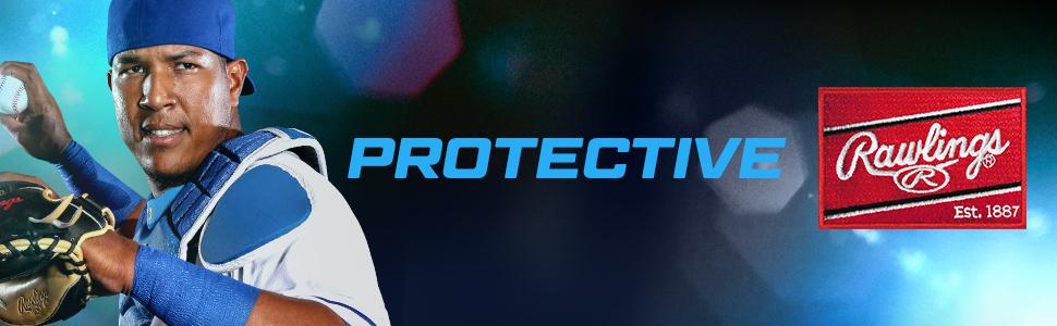 protective, baseball, rawlings