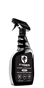 TYGER AUTO Tonneau Cover Truck Bed Cargo Cover Vinyl Leather Cleaner Protectant