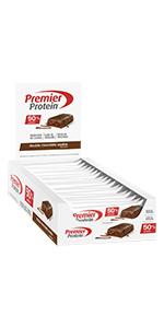 premier protein, alto contenudo, proteina, chocolate brownie