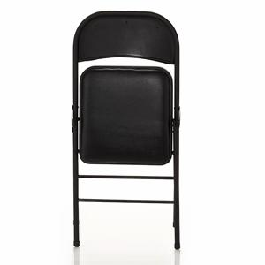 Amazon Com Cosco Fabric 4 Pack Folding Chair Black