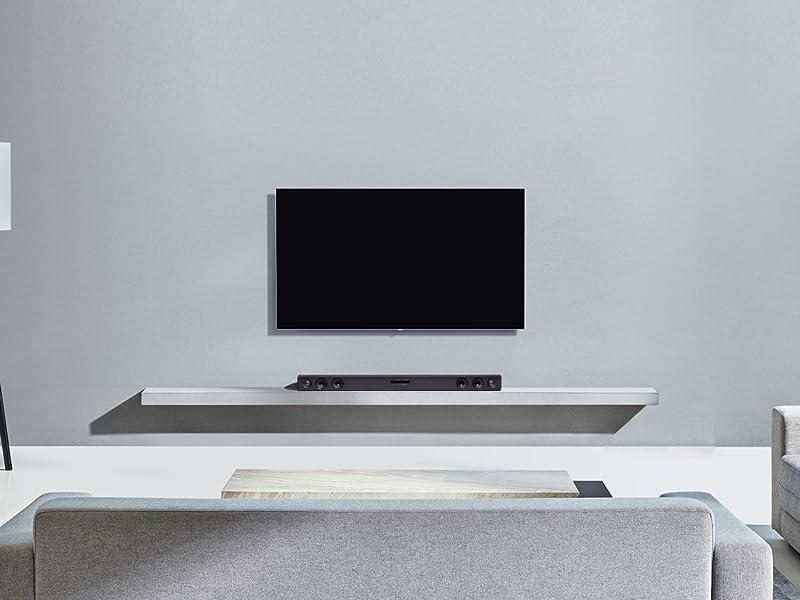 Lg Sk1d All In One 100w Soundbar Black Amazon Co Uk Tv