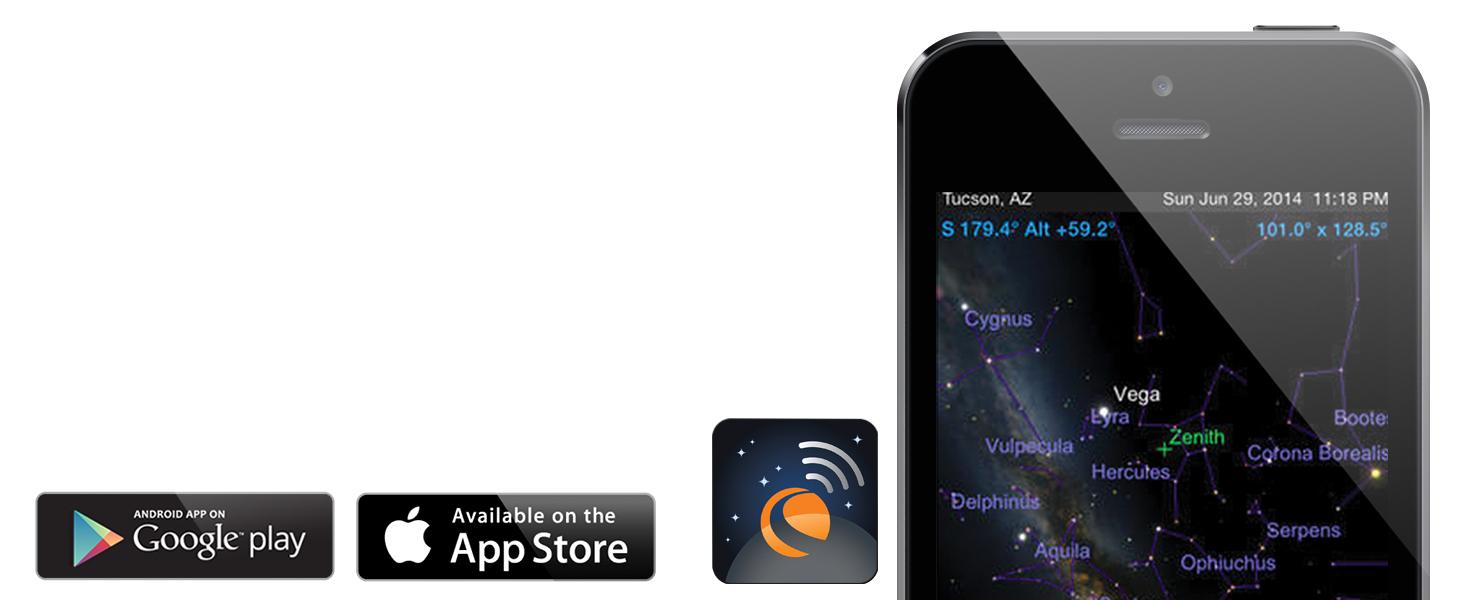 AstroFi 90 SkyPortal App