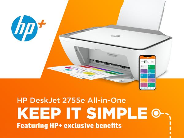 deskjet 2755e all in one printer hp+