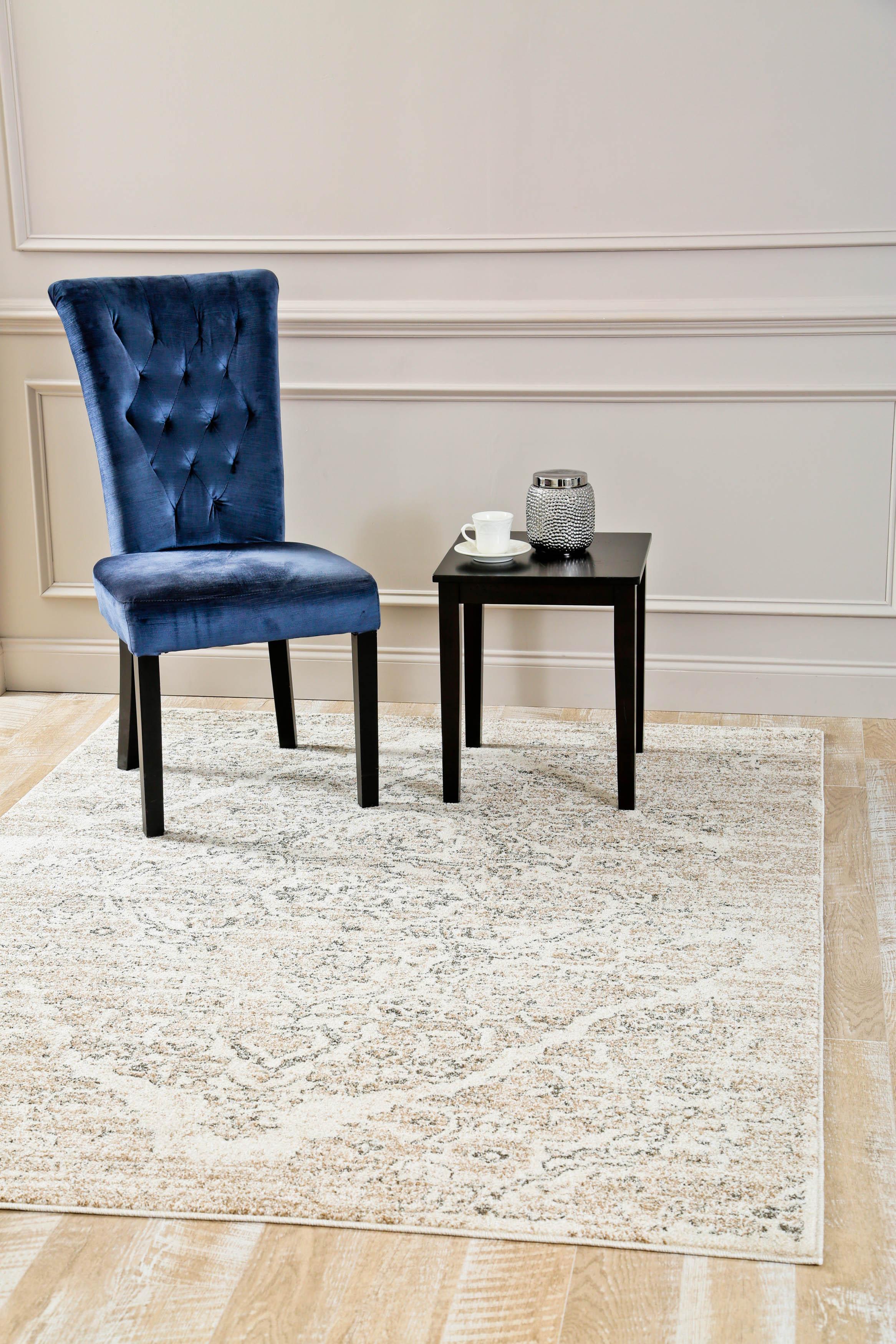 Amazon.com: 4620 Distressed Cream 7\'10x10\'6 Area Rug Carpet Large ...