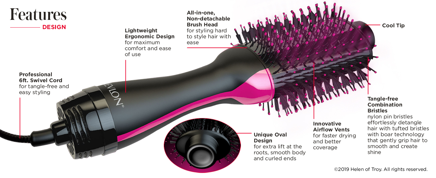 One step dryer and volumizer, one step, one step volumizer, one step hair dryer