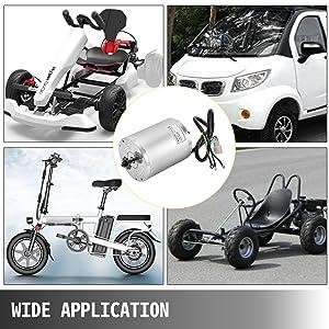2000 W /Électrique Scooter Moteur 48 V 60 V Moteur Brushless Moteur Haute Vitesse pour Go Kart ATV Dirt Moto E V/élo DIY 48V 2000W MOTOR