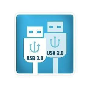 Compatible avec l'USB 3.0 et 2.0