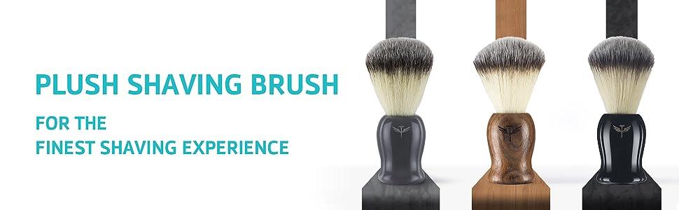 plush shaving brush bombay shaving company