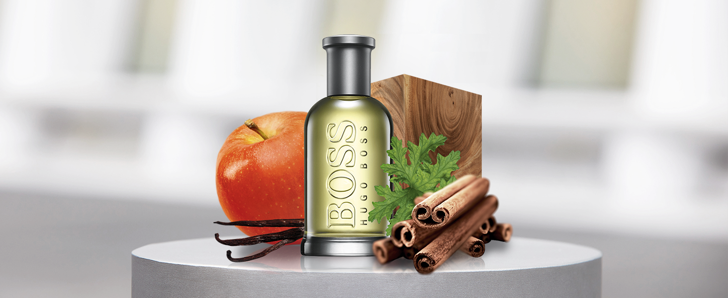 Hugo Boss, Boss, Scent, Boss Bottled, Fragrance for men, Men, Man, Scent, Apple, cinnamon, wood,