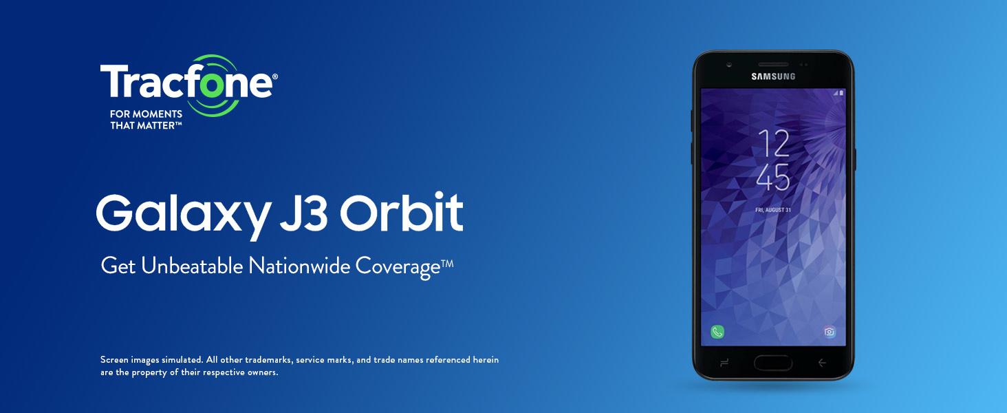 Tracfone Samsung Galaxy J3 Orbit 4G LTE Prepaid Smartphone