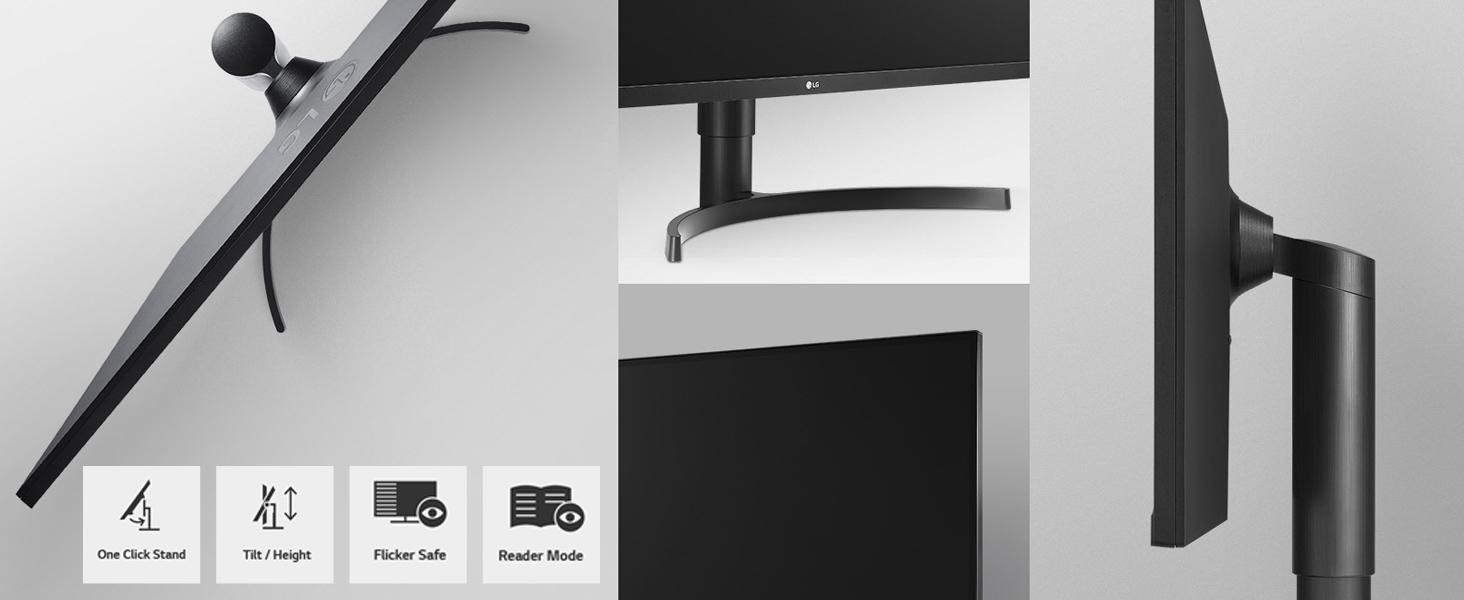 ergonomic design monitor