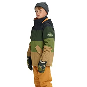 871b9e5b9261 Amazon.com   Burton Symbol Snowboard Jacket Kid s   Clothing