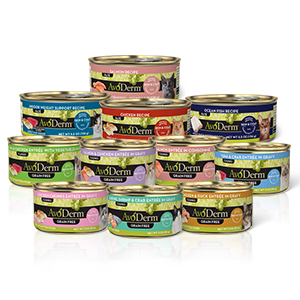 wet cat food cans